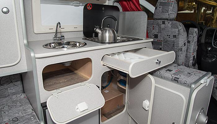 Le van am nag le go land par evasion 24 for Configurer sa cuisine
